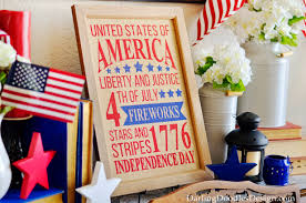Vintage Books For Decoration by Fourth Of July Decor Archives Darling Doodles