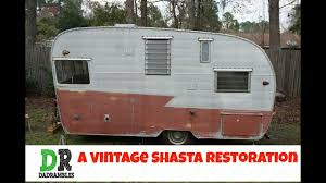 100 Restored Retro Campers For Sale Restore A Vintage Shasta Camper Canned Ham 1 How To YouTube