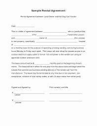 Land Agreement Letter Sample Fresh Agreement Sample Collection