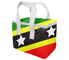 Flag Of Saint Kitts And Nevis KIDS LUNCH BOX 4600 By ARTPICS