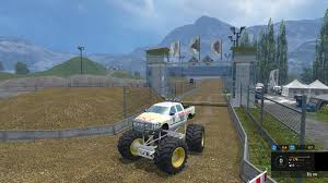 100 Monster Truck Simulator MONSTER TRUCK JAM V20 For LS15 Farming 2015 15 Mod