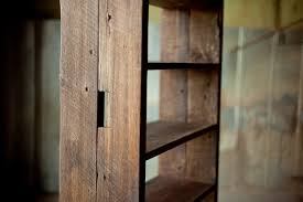 Reclaimed Wood Book Shelf Rustic Sons Of Sawdust Working Athens Georgia 3