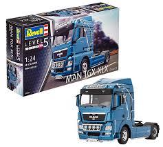 100 Model Truck Kits Amazoncom Revell Man TGX XLX Kit 124 Scale 248 Cm Toys