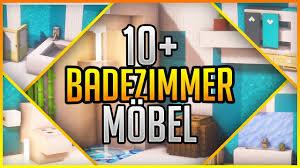 10 badezimmer möbel einfach minecraft 1 14 4 erikonhisperiod