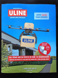 Kuy Mainwaring On Twitter Cover Of The Latest ULINE Catalog Is So Great Faster Than Drones Tco 9kngvJL9cM