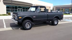 100 1970 Gmc Truck GMC K1500 4x4 Shortbed 396ci YouTube
