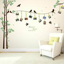 Image Is Loading Photo Tree Wall Sticker Family Decoration Memories