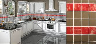 cuisine murale carrelage mural cuisine 8 modele faience carreaux systembase co