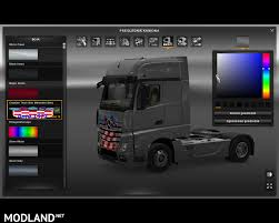 Croatian Truck Skin Mercedes Benz Actros 2014 Mod For ETS 2