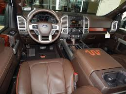 Interior View Of The 2015 Ford F150 King Ranch SuperCrew 4X4 ...