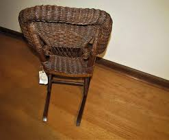 Amazon.com: Antique Heywood-Wakefield Child's Wicker Rocking ... Woodys Antiques Specializing In Original Heywood Wakefield Details About Heywood Wakefield Solid Maple Colonial Style Ding Side Chair 42111 W Cinn Antique Rattan Wicker Barbados Mahogany Rocking With And 50 Similar What Is Resin Allweather Fniture Childrens Rocker By 34 Vintage Chairs By Paine Rare Heywoodwakefield At 1stdibs Set Of Brace Back School American Craftsman Childs Slat Bamboo Pretzel Arm Califasia