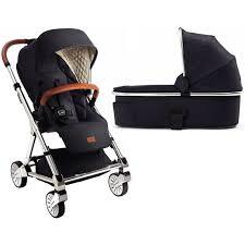 Mamas & Papas 2017 Urbo2 Stroller With CarryCot - Blue Denim ...