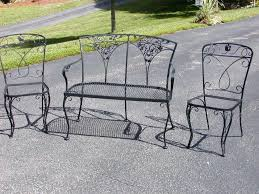 Salterini Iron Patio Furniture by Find This Pin And More On Vintage Wrought Iron Patio Furniture How