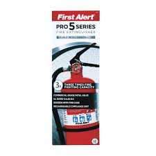 Recessed Fire Extinguisher Cabinet Detail by First Alert 5 Lb Pro 5 Series Fire Extinguisher Pro5 Fire