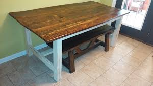 Ana White | Old Barnwood Farmhouse Table - DIY Projects Square Old Barn Wood Pop Up Table With Clear Coat Coffee Sets Reclaimed Side Weathered Reclaimed Wood Coffee Table Fniture And Barnwood Custmadecom Metal Ding 8 Steel Pinterest Custom By Pinestock Made From A 80 Year Old Barn Door For Sue Lynn Living Room Awesome Rustic Hand Crafted Aged And The Wardrobe I Frightening Tables Pictures