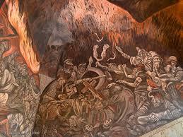 murales de josé clemente orozco en palacio de gobierno