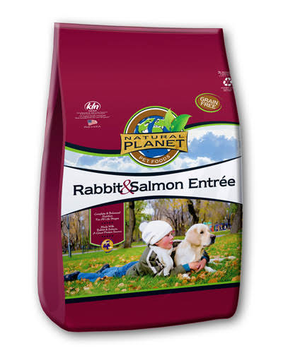 Natural Planet Organics Grain Free Dog Food - Rabbit & Salmon
