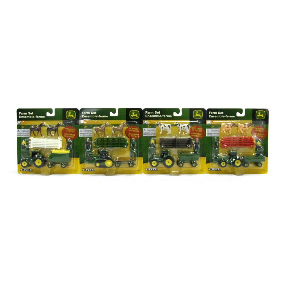 John Deere Farm Play Set - 10 Pieces