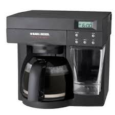 Black Decker SpaceMaker 12 Cup Coffee Maker