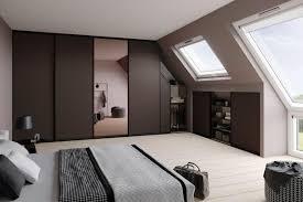 begehbarer kleiderschrank bei dachschrä schöner wohnen