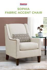 Sophia Fabric Accent Chair In 2019 | What's New On Costco.com ... Kuka Brown Aniline Leather Swivel Accent Chair Costco Uk And Table Set To Match Fniture Ideas Recling Lounge With Ottoman Warranty On Ave Six Cypress And Flooring White Rug Dark Hardwood Floor Beige Sets For Living Room Arm Of 2 Hinreisend Loveseat Mattress Sofa Recliner Chairs Clearance Armchair Cheap Armless Cobraeorg Reflect Your Style Inspire Home Wide