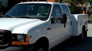 100 Utility Bed Truck For Sale NICE 2001 FORD F350 SUPERDUTY CREWCAB UTILITY BED YouTube