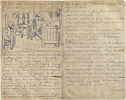 das schlafzimmer brief an paul gauguin aus arles mittwoch 17 oktober 1888