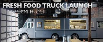 100 Food Trucks Boston Fresh Truck Launch Oct 1 Coppersmith WeekendPick