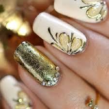 Nail Designs Gold