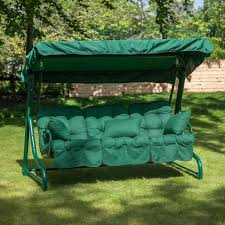Garden bench and seat pads Cheap Garden Swing Garden Furniture