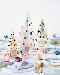 Sequined Christmas Tree Centerpiece