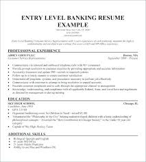 Summary For Resumes Special Skills Examples Resume Entry Level Of