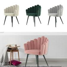 samt stuhl modern rosa grau creme grün schminktisch