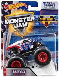 Hot Wheels Monster Jam 2018 Stars And Stripes Max-D Maximum ... Maximum Destruction Monster Truck Toy List Of 2017 Hot Wheels Jam Trucks Wiki Battle Playset Walmart Intended For 1 64 Max D Yellow 2016 New Look Red Includes Rc Remote Control Playtime Morphers Vehicle Jual Stock Baru Monster Jam Maxd Revell Maxd Model Kit Scratch Catchoftheday
