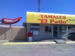 El Patio Ponca City Menu by El Patio Tamales Home