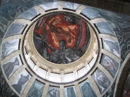 el muralismo mexicano el hombre en llamas un análisis