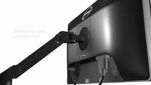 out of box setup dell msa14 single monitor arm stand youtube