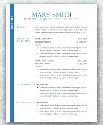 Modern Resumes Resume For College Student Examples 2015