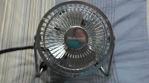 Vornado Zippi Desk Fan by Lakewood 4inch Personal Fan Youtube