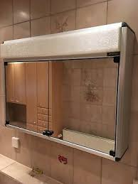 geostar bad spiegelschrank schrank licht spiegel alibert