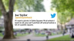 Bizarre VIP Picnic Event Offering Free Reserved Patches In Public Park Soho Is Cancelled After Fierce Backlash