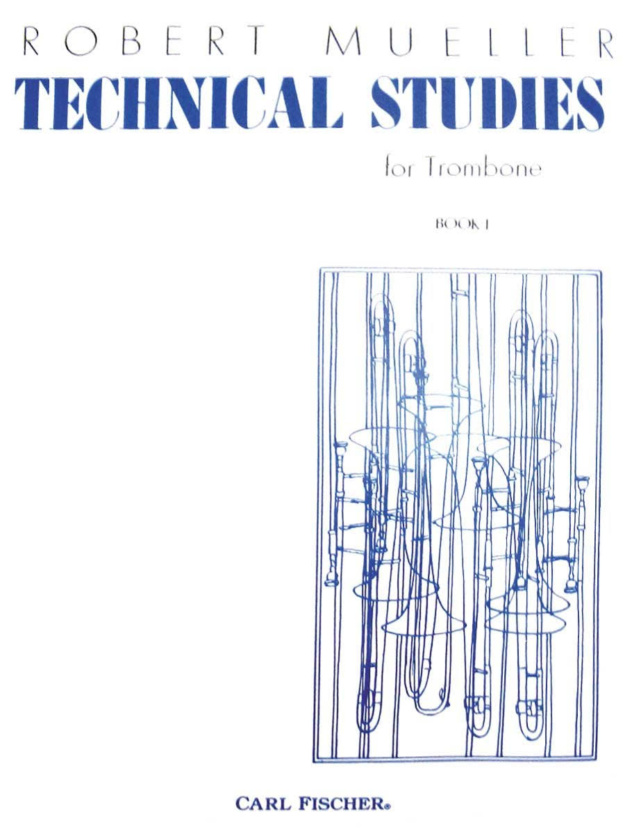 O3155 - Technical Studies for Trombone - Book 1