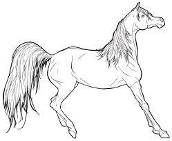 30 Free Printable Realistic Horse Coloring Pages 3795 Via Uniquecoloringpages