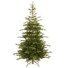 8 Ft Black Artificial Christmas Tree by National Tree Company 7 1 2 Ft Feel Real Norwegian Spruce Hinged