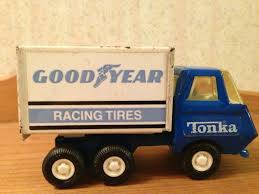 Vintage Tonka Goodyear Racing Tires Truck On PopScreen