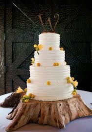 Tree Trunk Wedding Cake Stand Decoration Ideas 9939