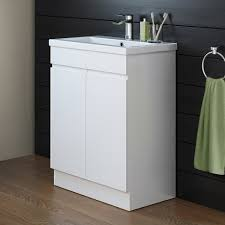 Tall Bathroom Cabinets Freestanding by High Gloss White Tall Bathroom Cabinet Bathroom Furniture Ideas