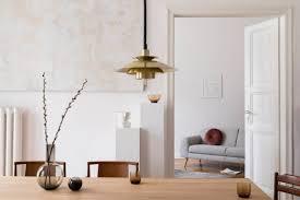 stilvolles scouti interieur des wohnzimmers mit design