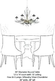 Chandelier Size Calculator Fresh For Linear Dining Room