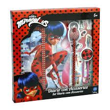 Prodigiosa Las aventuras de Ladybug Diario con accesorios